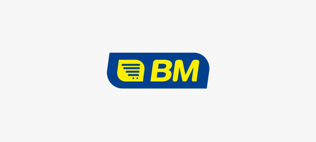Logotipo de BM Supermercados