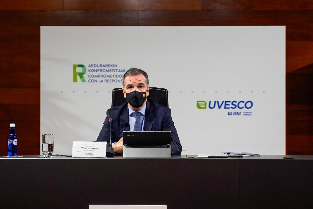 UVESCO, cierre ejercicio 2020