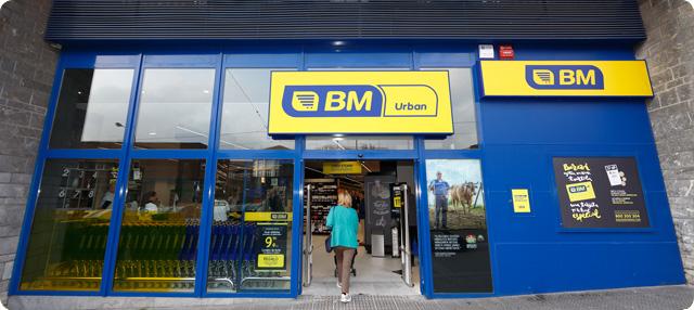 supermercado BM en Basurto