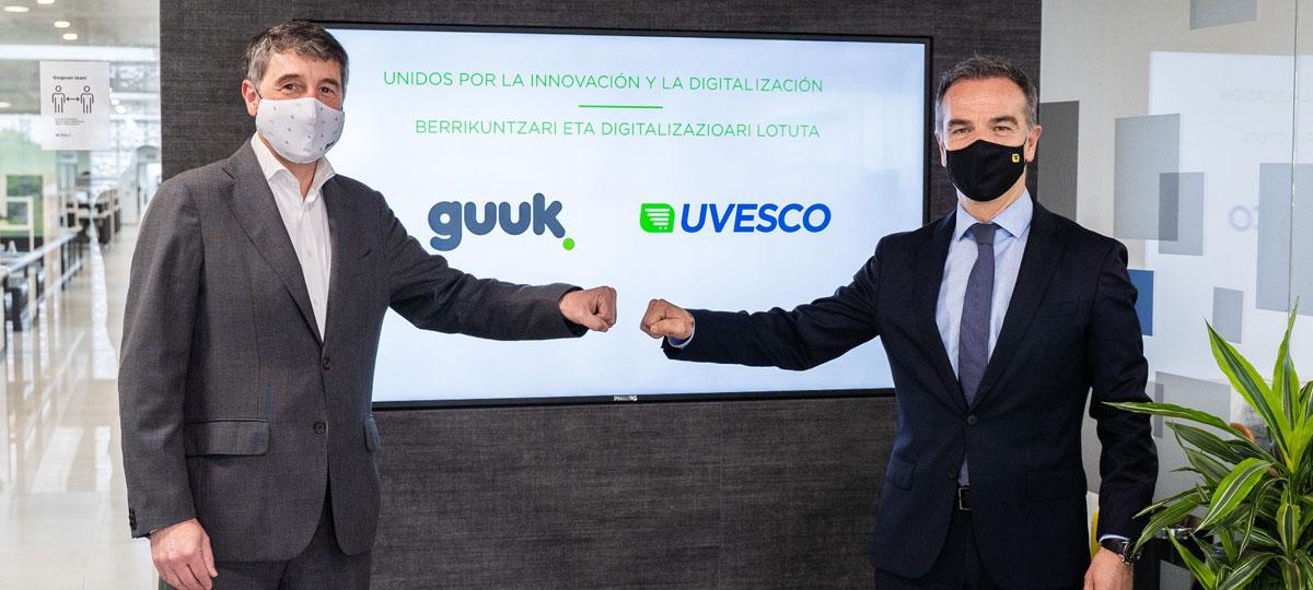 Nos unimos a Guuk para avanzar en la transformación digital de nuestros supermercados