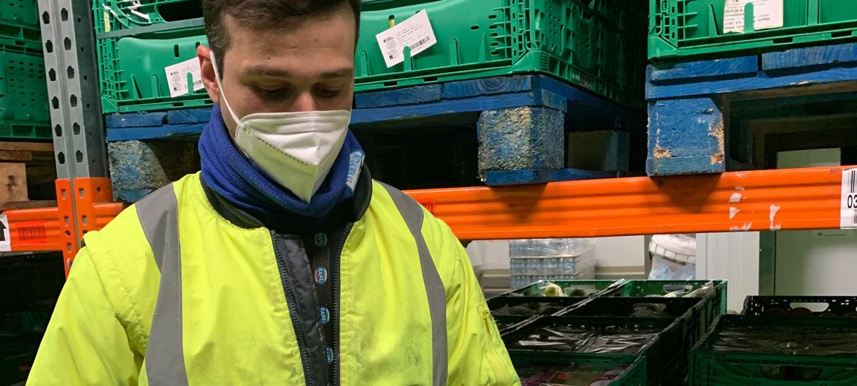 Grupo Uvesco recicla las mascarillas desechables de sus plantas logísticas de Irún de la mano de las empresas Orka y Nantek
