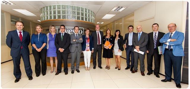 Visita consejeros Gobierno Vasco