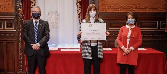 Grupo Uvesco recibe un reconocimiento por su aportación al Banco de Alimentos en el marco de la Semana Europea de Prevención de Residuos