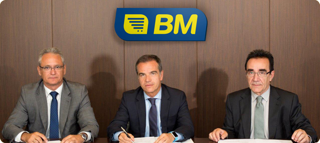 Banco Sabadell ere BM frankizien planera sartu da